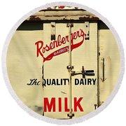 Rosenberger's - Dairy Milk  Round Beach Towel