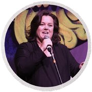 Rosie O'donnell Round Beach Towel