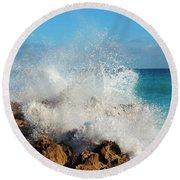 Ross Witham Beach 2 Round Beach Towel