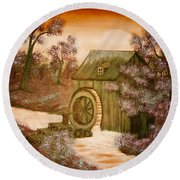 Ross's Watermill Round Beach Towel