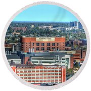 Roswell Park  Round Beach Towel