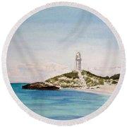 Rottnest Island Australia Round Beach Towel