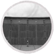 Roundhouse Depot Round Beach Towel