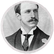 Rounsevelle Wildman (1864-1901) Round Beach Towel