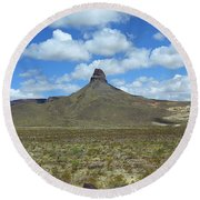 Route 66 - Arizona Mountain Round Beach Towel