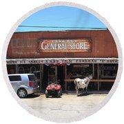 Route 66 - Oatman General Store Round Beach Towel