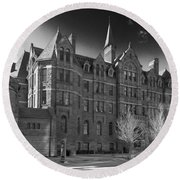 Royal Conservatory Of Music Round Beach Towel