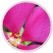 Ruby Round Beach Towel