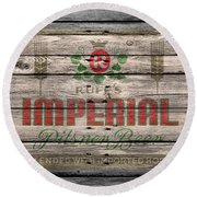 Ruffs Imperial Round Beach Towel