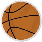 Rugby Ball Round Beach Towel