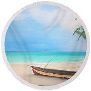 Runaway Bay Round Beach Towel