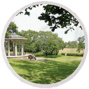 Runnymede Surrey Uk Round Beach Towel