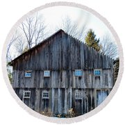 Rustic Places Round Beach Towel
