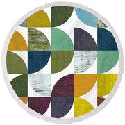 Rustic Rounds 2.0 Round Beach Towel