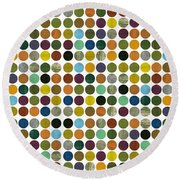 Rustic Rounds 225 Round Beach Towel