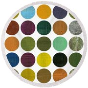 Rustic Rounds 75 Number Two Round Beach Towel