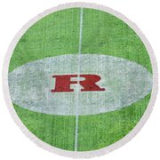 Rutgers College Camden New Jersey Round Beach Towel