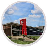Rutgers Visitor Center Round Beach Towel
