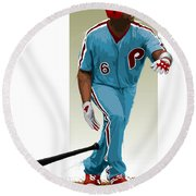 Ryan Howard Round Beach Towel