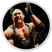 Ryback Victory Round Beach Towel