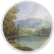 Rydal Water Round Beach Towel