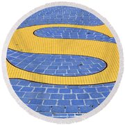 S Is For ...... Round Beach Towel