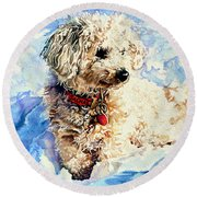 Sacha Round Beach Towel