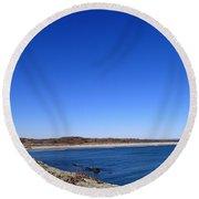 Sachusett Beach 4 Round Beach Towel