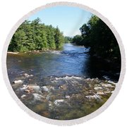 Saco Riverscape Conway Nh Round Beach Towel