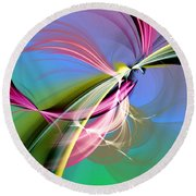 Sacred Mysteries Round Beach Towel