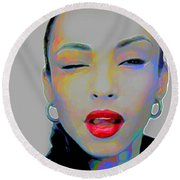 Sade 3 Round Beach Towel