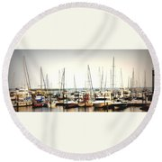 Safe Resting Place Round Beach Towel