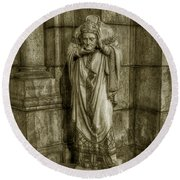 Saint Denis Round Beach Towel