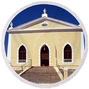 Saint Stephen's Church Round Beach Towel
