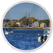 Salem Round Beach Towel