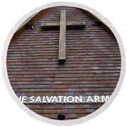 Salvation Round Beach Towel by Doug Wilton