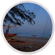 Sam Roi Yod Beach 04 Round Beach Towel