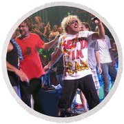 Sammy Hagar And The Wabos Cabo Wabo Round Beach Towel