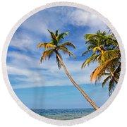 San Blas Dreaming Round Beach Towel