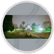 San Francisco Conservatory Of Flowers Round Beach Towel
