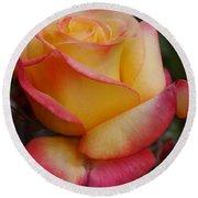San Francisco Rose Garden Rose Round Beach Towel