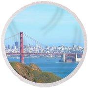 San Fransisco Round Beach Towel