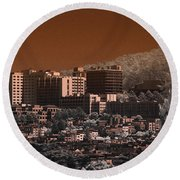 San Fransisco Sector Round Beach Towel