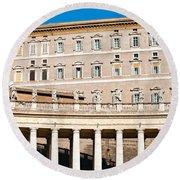 San Peter - Rome - Italy Round Beach Towel