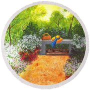 Sanctuary Round Beach Towel