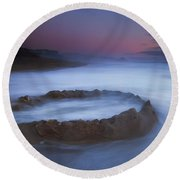 Sand Castle Dream Round Beach Towel