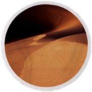 Sand Dunes 195 Round Beach Towel