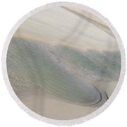 Sand Formations 2 Round Beach Towel