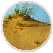Sand Hill Round Beach Towel