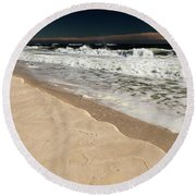 Sand Ledge Round Beach Towel